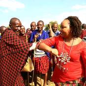 Governor Waiguru Leads a Team of Women Leaders to a Maasai Initiation Ceremony