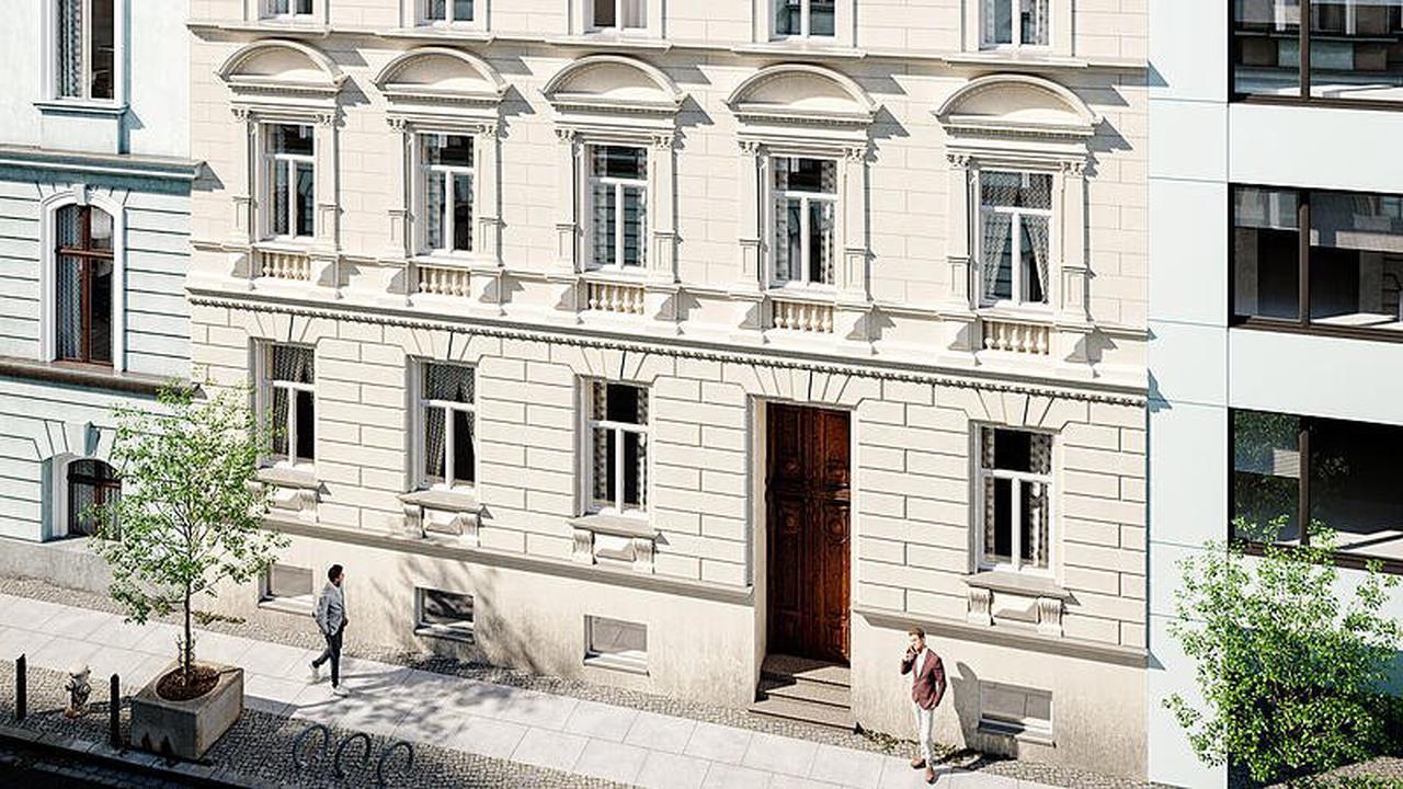 Group 21 errichtet Palais Volksgarten mit 24 Wohnungen