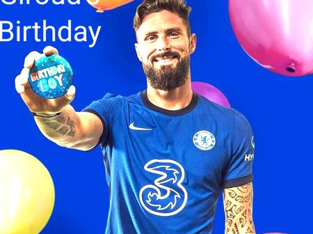Read What Unhappy Chelsea Fans Sent To Giroud On His Birthday Yesterday.