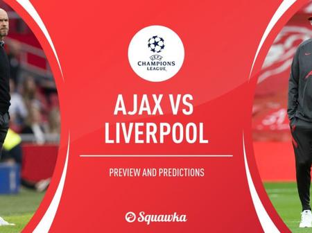 Possible lineup Ajax can use to defeat Liverpool in Champions league match