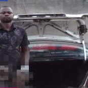 See The Video Of Man Nabbed By NDLEA With Two Human Heads