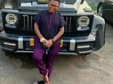 See Pictures Of Exotic Cars Owned By The Nigeria Well Know Actor OSITA IHEME