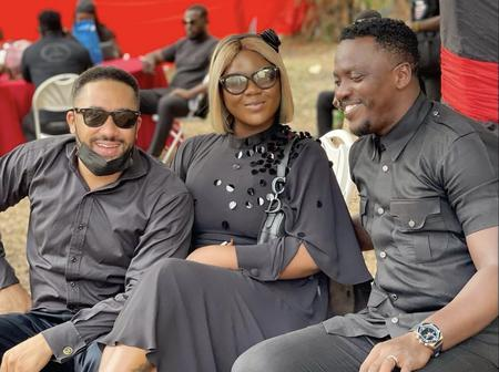 Ghanaian celebrities in black as they mourn with Eddie Nartey