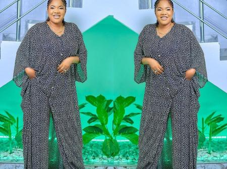 Toyin Abraham Stuns In New Photo, Says She Is A Covenant Child