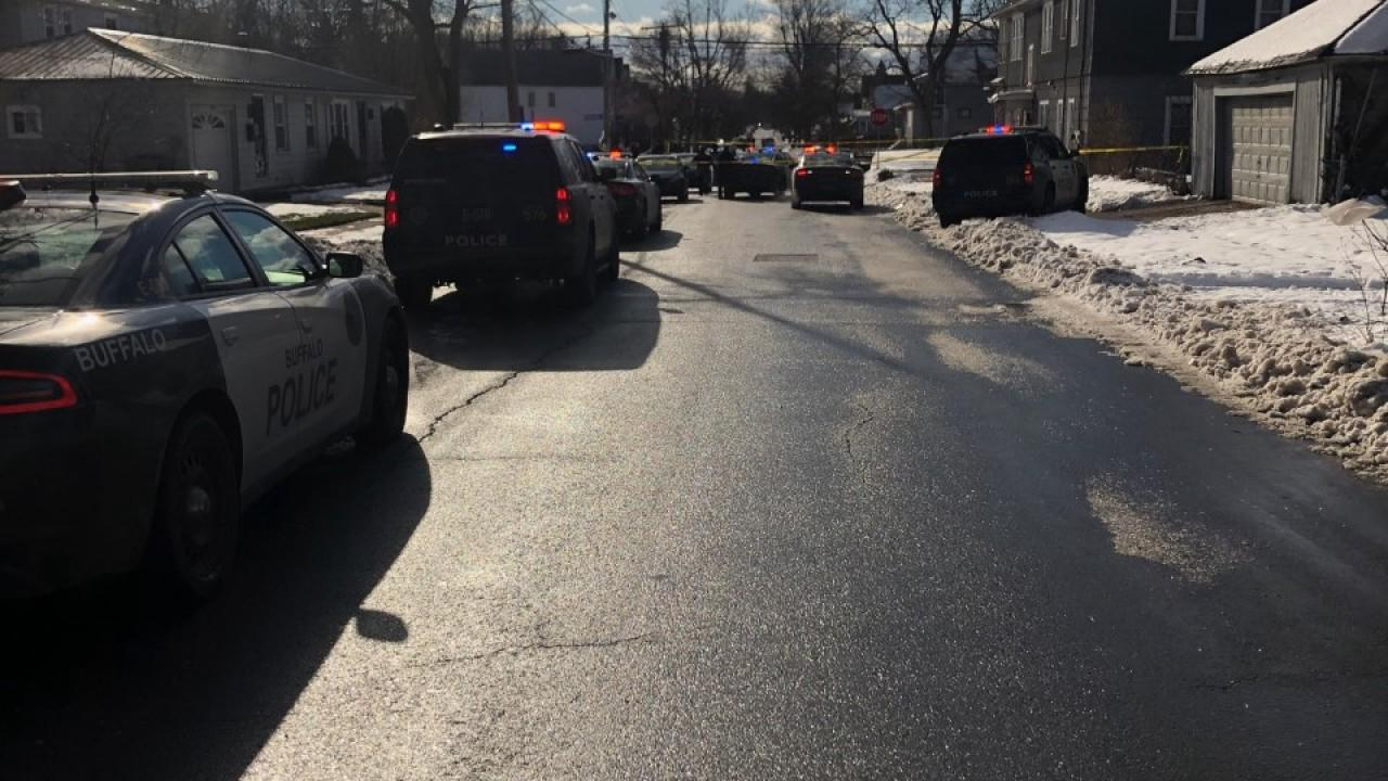 "Buffalo Police investigating a ""serious"" shooting in the Delevan-Grider neighborhood"