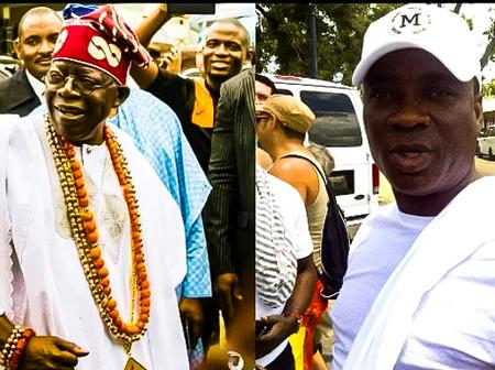 Reactions As Bola Ahmed Tinubu Begs Nigerians Through Kwam1 For 2023 Election - Video/Photos