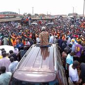 Raila Odinga is The 'King' Of Western Politics; Photos Of Busia and Kakamega Says it All