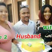 Meet 2 Beautiful Nigerian Actresses Who Are Married To One Man And They Live Together As A Family