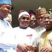 Politics: Saraki Visits Obasanjo in Abeokuta