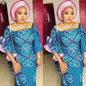 Ankara And Lace Styles For Both Single And Married Ladies