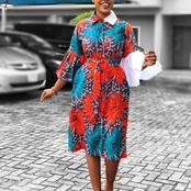 Make Your Church Dresses Stand Out With These 54 Gorgeous And Elegant Ankara Styles