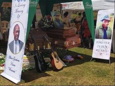 RIP: Emotional Moments as Late Benga Musician Albert Gacheru and His Brother Are Laid To Rest