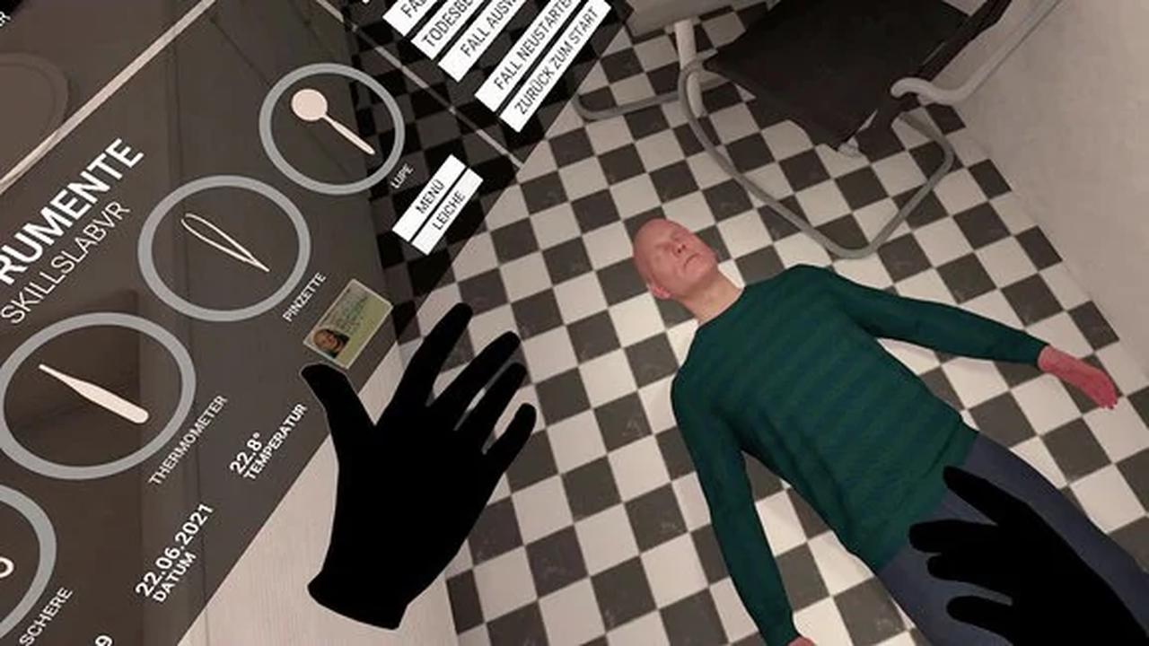 Ärztliche Leichenschau im virtuellen Raum