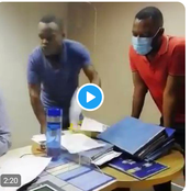Watch: Standard Bank Customers Storm Bank Demanding For Their Money