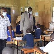CS Magoha Assesses The Supply of Desks in Malava, Kakamega County