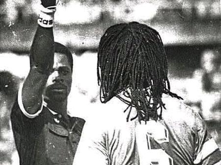 History : this is how a red card could have saved Samuel Okwaraji's life.