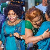 Former First Lady Of Nigeria, Patience Jonathan Spotted At A Birthday Party In Abuja, See Her Outfit