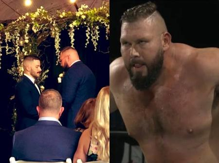 Pro-wrestler Mike Parrow Marries His Longtime Boyfriend In A Lavish Ceremony
