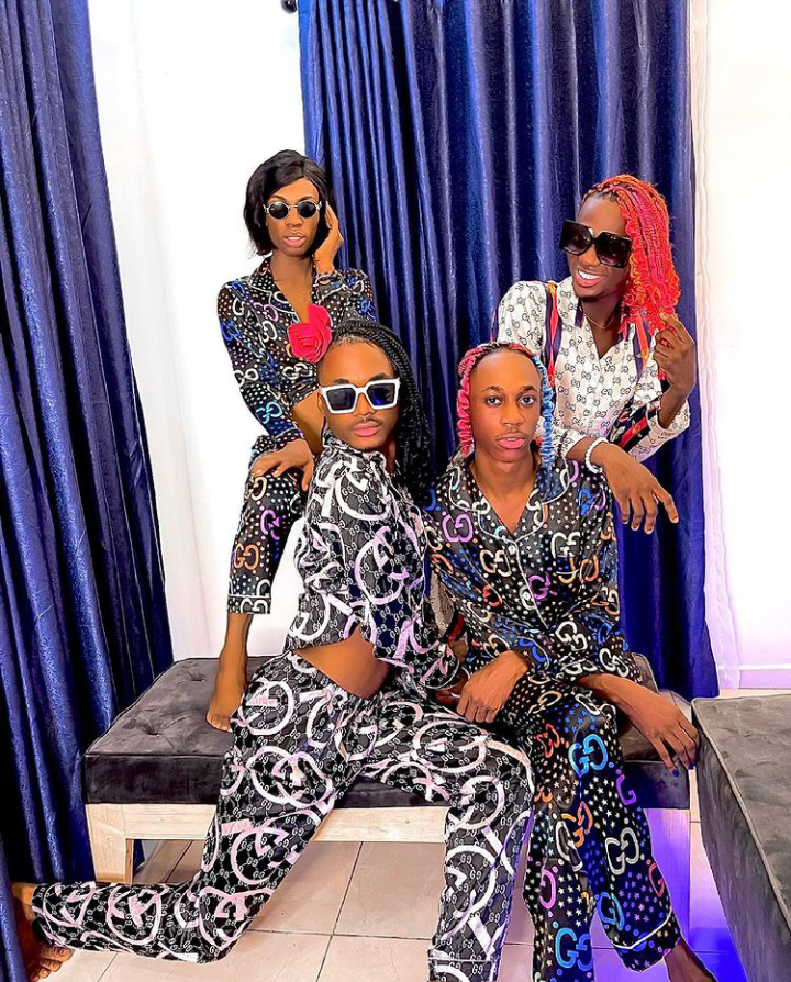 Nigerian crossdresser, James Brown shares lovely new photos with his friends (See pictures) 13