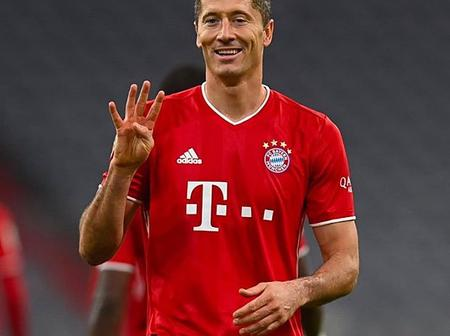 Lewandowski breaks Bundesliga record after scoring a perfect hat-trick in Bayern Munich's victory