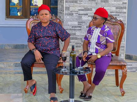 Popular Actor, Aki Celebrates His Buddy Pawpaw On His Birthday Today, Check Out Their Lovely Pictures