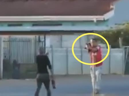 Hostile Colored GANG Fight Caught On Tape In Worcester - SOUTH AFRICA