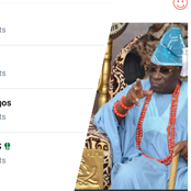 Oba of Lagos is currently trending on Twitter, See the reason why he is trending.