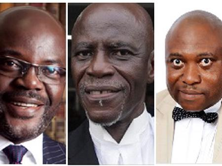They realized Mahama had lost the election that is why they both left the EC - Lawyer Amenuvor