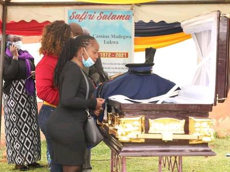 An Officer Who Died In Vihiga County Finally Laid To Rest At Kakamega County