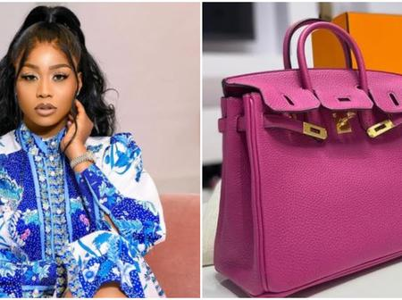 Vanity upon vanity? Check out the 8.3 million Naira bag a Nigerian actress bought with her money