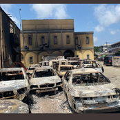 27 photos of destroyed properties that belongs the Lagos State government