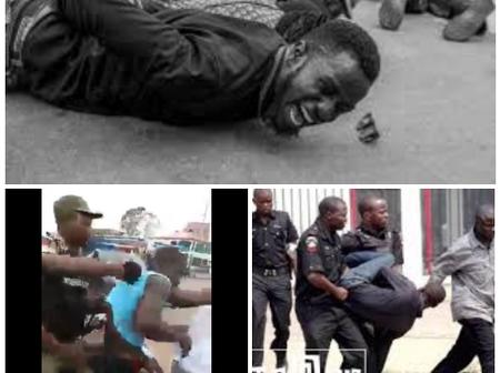 See How Policemen Harrassed Citizens In Aba(video)