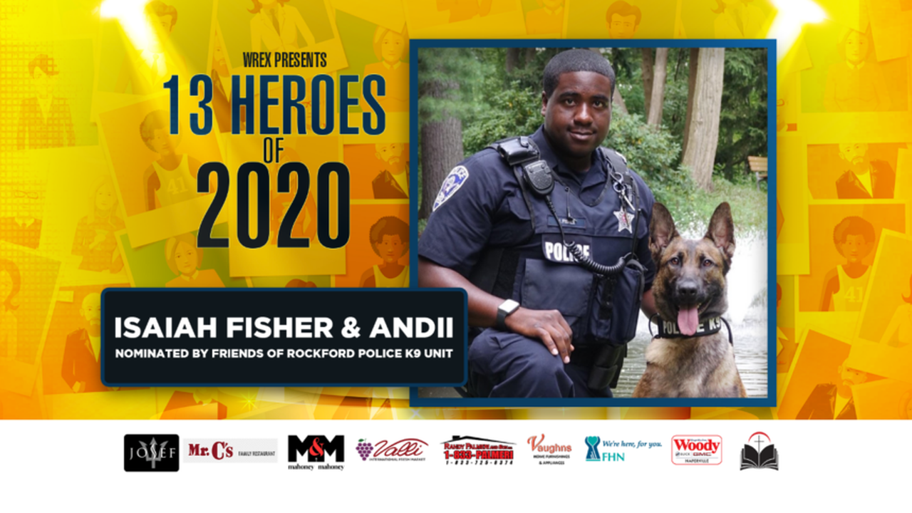 13 Heroes: K9 Andii and Officer Isaiah Fisher