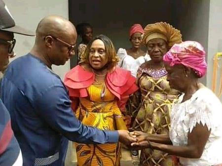 Business Mogul, Dan Okeke Gifts House To Old Woman (Pictures)
