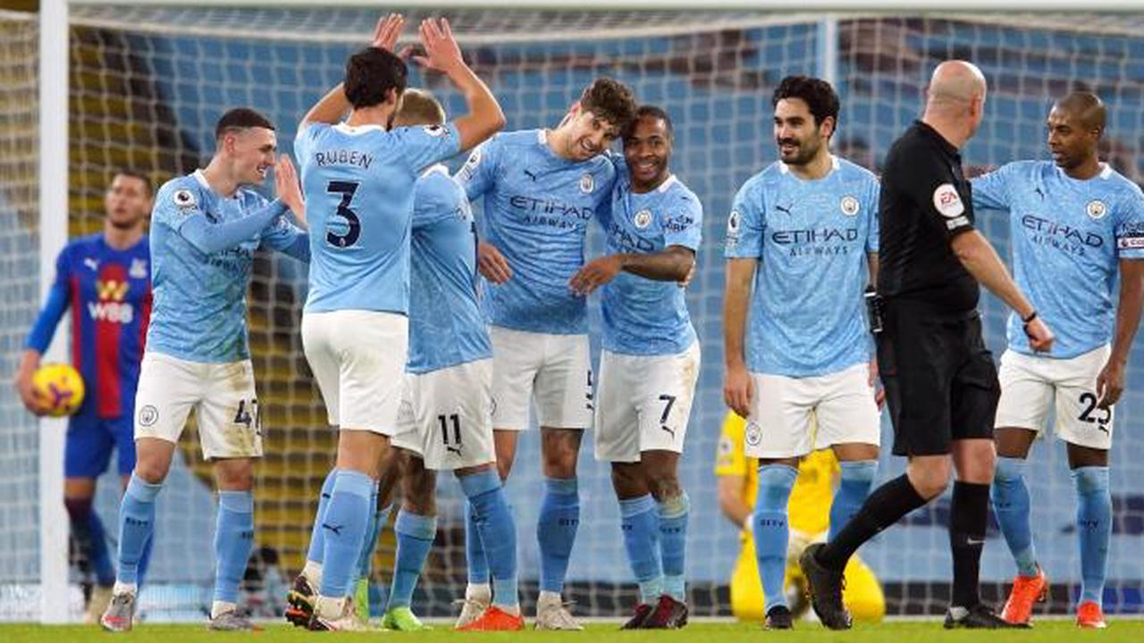 Man City Go Second In The Premier League After Thrashing Crystal Palace