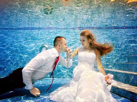See Beautiful Photos Of Weddings Held Underwater.