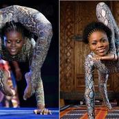 Nokulunga Buthelezi : la femme serpent