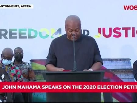Summary Of JM's Address To the Nation After Election Petition Defeat