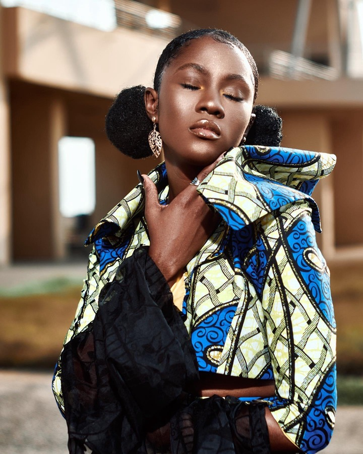 21d7f00d89fc41188e14251228d9368f?quality=uhq&resize=720 - KiDi's Chocolate Skinned 'Girlfriend' Cina Soul Stun Us With Her Beauty