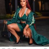 Mercy Eke looks Stylish in Beyonce's Ivy Park Sportswear (Photos)
