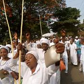 Photos: Women, Elders And Youth Demonstrate As Owa-Ale Of Ikare Descends From The Mountain