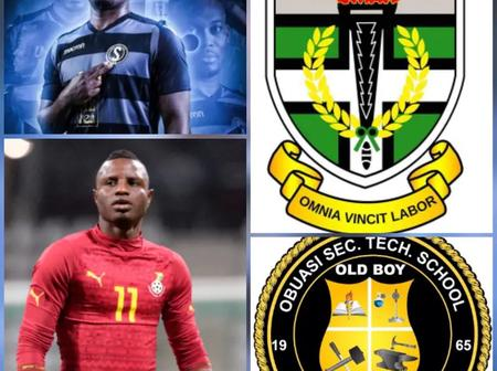 SHS attended by some Ghana Black Stars Players you didn't know