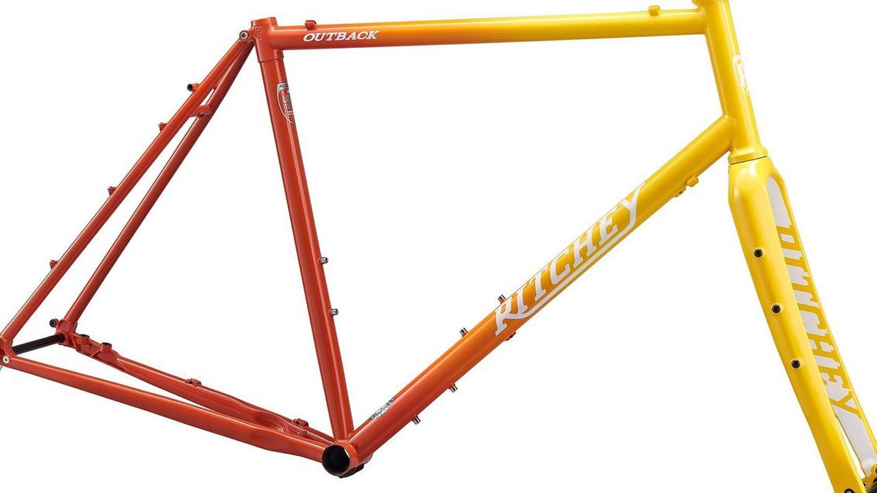 Ritchey Heritage Paint Program Outback Frameset in Sunset Fade
