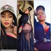 Reactions as pretty Botswana singer Lorraine flaunts her beauty