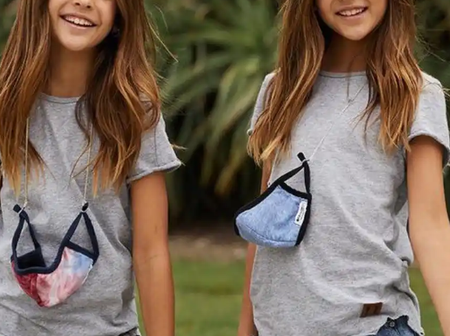 Meet the 11years Old Twins Sister who Start modelling at the age of 6months