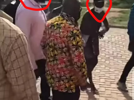 Check out what happened to Nana Addo during his tour in the Ashanti region