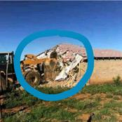 Another man demolished his family's house, SEE WHY!!