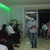 Sidy Diallo et sa femme :