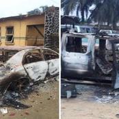 Hooligans Burn Afam Police Station During EndSARS Protests