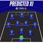 Chelsea Might Lose Their Match Against Manchester United If Tuchel Fails To Use This Line Up